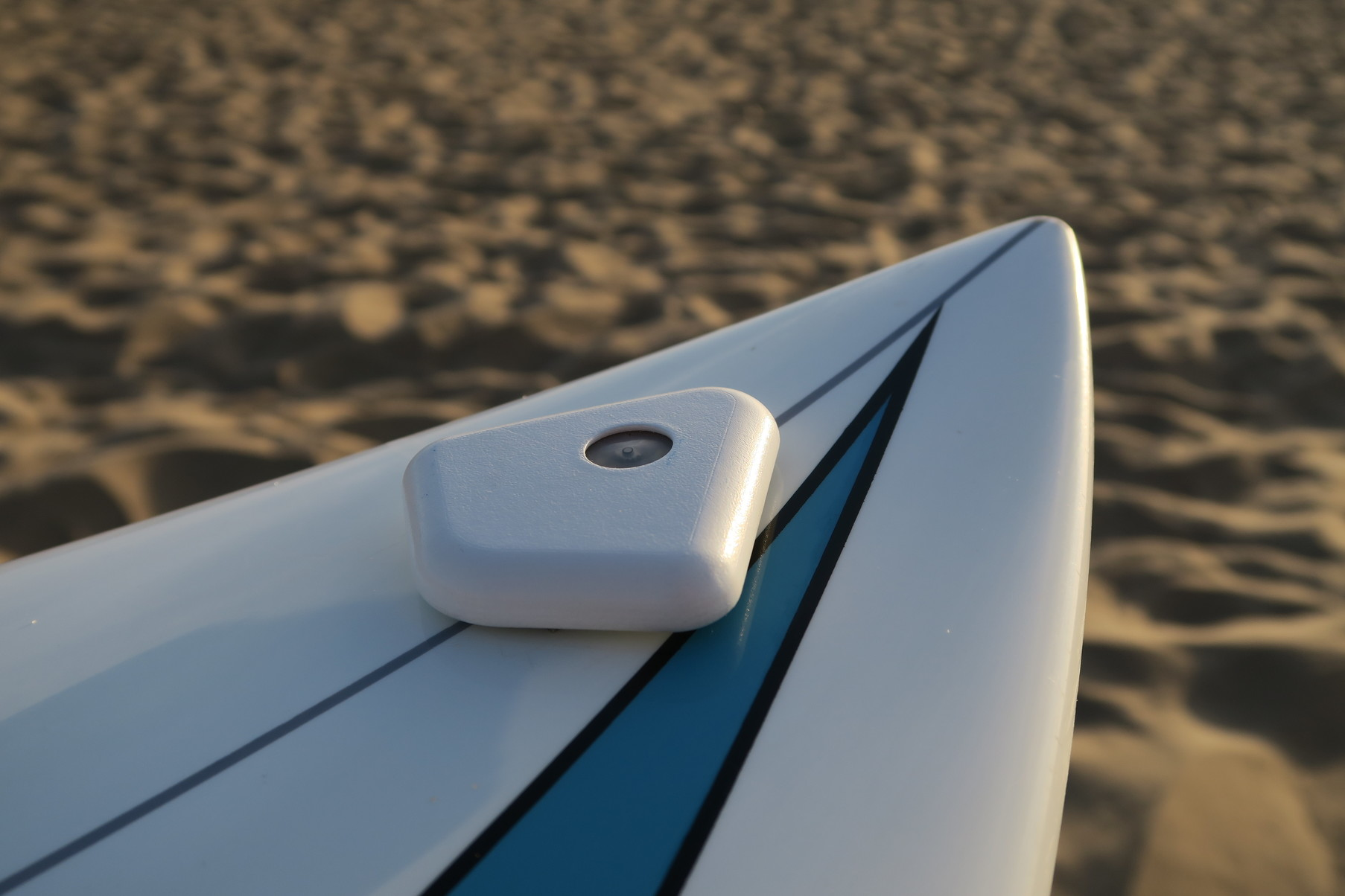 SCAD mockup on surfboard